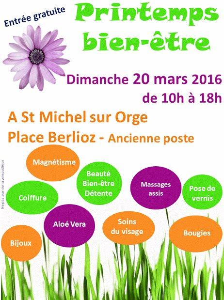Salon du bien être à Saint-Michel-sur-Orge