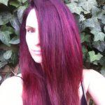 couleur cheveux magenta