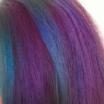 Coloration fluo cheveux